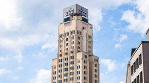 Grootschalige asbestinventarisatie KBC-toren Antwerpen